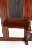 Large Victorian Carved Mahogany Overmantle Mirror (10 of 13)