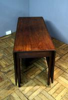 Good Practical Super Quality Georgian Mahogany 6 Leg Gateleg Table (9 of 10)