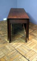 Good Practical Super Quality Georgian Mahogany 6 Leg Gateleg Table (8 of 10)