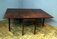 Good Practical Super Quality Georgian Mahogany 6 Leg Gateleg Table (5 of 10)