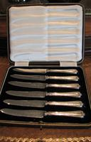 Waring & Gillow Ltd Silver Dessert Knives