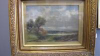 Abraham Hulk Junior 19th Century Landscape Oil on Canvas