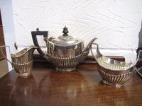 Mappin & Webb 3 Piece Silver Plated Tea Service