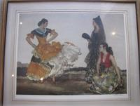 Sir William Russell Flint 'The Dance of the Thousand Flounces'