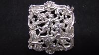Antique Silver Brooch, Samuel Jacob 1900