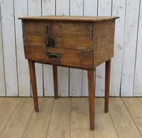 Antique Swedish Bureau Desk