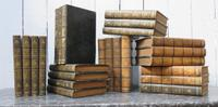 Twenty Four Antique Leather Bound Books