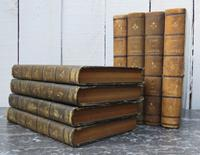 Twenty Four Antique Leather Bound Books (3 of 6)