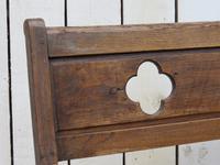 Antique Oak Hall Bench c.1890 (2 of 7)