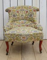 Antique Napoleon III Boudior Chair (2 of 8)