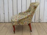 Antique Napoleon III Boudior Chair (3 of 8)
