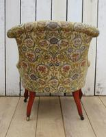 Antique Napoleon III Boudior Chair (7 of 8)