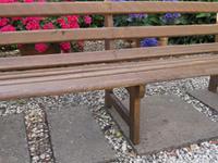 French Railway Waiting Room, Garden Bench (5 of 8)