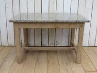 Bleached Oak & Marble Boulangerie Prep Table (8 of 9)