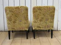 Pair of Antique Napoleon III Chairs for re-upholstery (8 of 9)