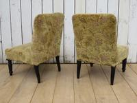 Pair of Antique Napoleon III Chairs for re-upholstery (4 of 9)