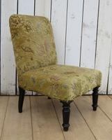 Pair of Antique Napoleon III Chairs for re-upholstery (7 of 9)