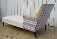 Antique Napoleon III Day Bed Chaise for re-upholstery (2 of 7)