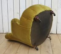 Antique His & Hers Victorian Tub Armchairs (3 of 8)