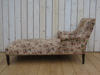 Antique Napoleon III Day Bed Chaise Longue (3 of 7)