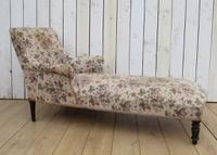 Antique Napoleon III Day Bed Chaise Longue