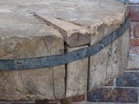 19th Century Chopping Block, Side Table (7 of 9)