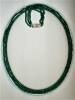 Genuine Precious Emerald Necklace