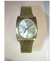 Rolex Solid Gold Bracelet Watch