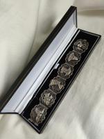 Antique Egyptian Solid Silver Panel Filigree Bracelet 44gr