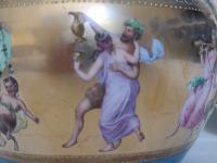 Antique Austrian Corinth Porcelain Vase & Serving Dish / Plate c.1900 (14 of 15)