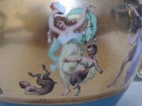 Antique Austrian Corinth Porcelain Vase & Serving Dish / Plate c.1900 (3 of 15)