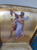 Antique Austrian Corinth Porcelain Vase & Serving Dish / Plate c.1900 (8 of 15)