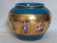 Antique Austrian Corinth Porcelain Vase & Serving Dish / Plate c.1900 (10 of 15)