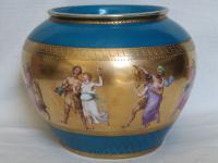 Antique Austrian Corinth Porcelain Vase & Serving Dish / Plate c.1900 (15 of 15)