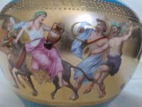 Antique Austrian Corinth Porcelain Vase & Serving Dish / Plate c.1900 (13 of 15)