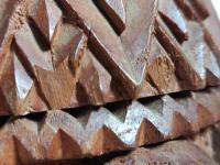 Hand Carved Wood Carving Tobacco Jar Box in Merbau Mahogany Indonesia (8 of 9)