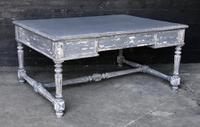 French Painted 4 Drawer Writing Table c.1865