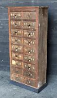 Industrial Bank of Drawers c.1890