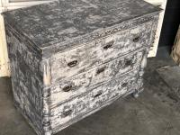 French Painted Chest of Drawers c.1880