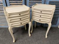 Pretty Pair of French Bedside Drawers c.1930