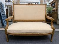 French Giltwood Settee c.1870
