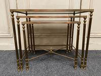 French Brass Nest of Tables (11 of 13)