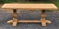 Unusual French Farmhouse Dining Table