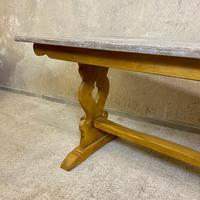 Oak Refectory Dining Table c.1900 (9 of 19)