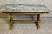 Oak Refectory Dining Table c.1900 (7 of 19)