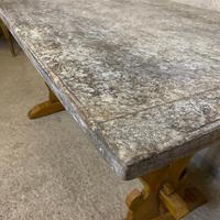 Oak Refectory Dining Table c.1900 (2 of 19)