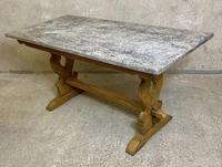 Oak Refectory Dining Table c.1900