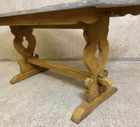Oak Refectory Dining Table c.1900 (18 of 19)