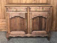 French Bleached Oak Buffet c.1840
