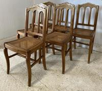 Set of 6 French Dining Chairs c.1900 (6 of 7)